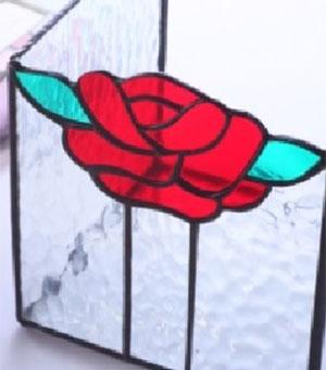 バラのボックスの写真
